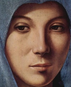 Vergine. Antonello da Messina.